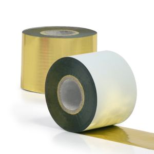 Textile thermal transfer ribbons