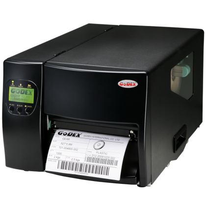 INDUSTRIAL BARCODE PRINTER GODEX  EZ6200 Plus