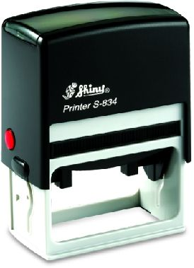 AUTOMATIC RECTANGULAR STAMP SHINY S-829