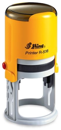 AUTOMATIC ROUND STAMP SHINY R-538
