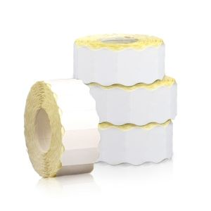 6 LABEL ROLLS FOR DOUBLE ROW PRICE GUNS 26х16/1000