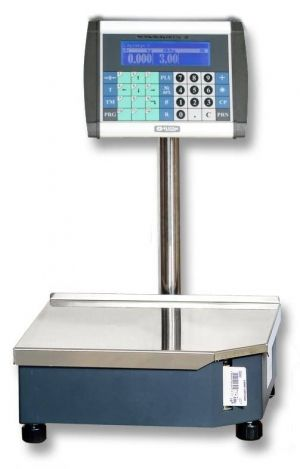 WEIGHING SCALE EVLplus xx BT with HORIZONTAL DISPLAY