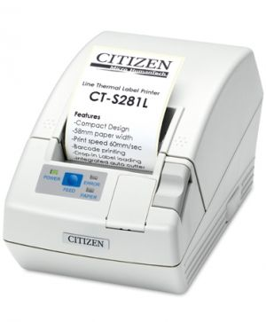 LABEL BARCODE PRINTER CITIZEN CT-S281L