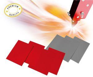 Laser rubber sheet
