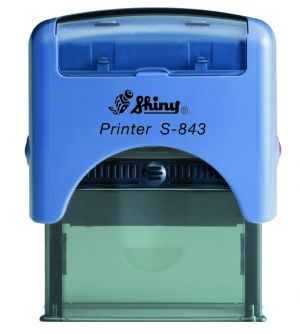 AUTOMATIC  STAMP SHINY S-843 size 18x47 mm