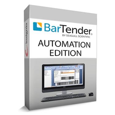 Софтуер за дизайн на етикети BarTender Automation