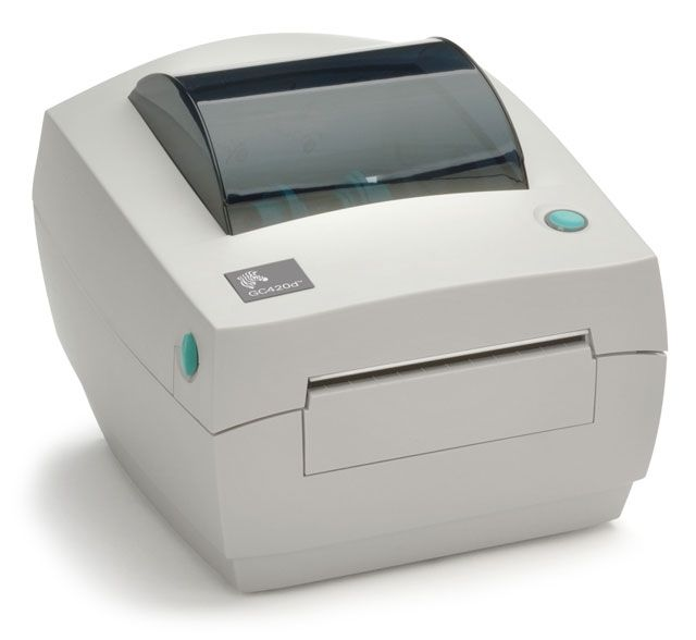 Label Barcode Desktop Printer Zebra Gc420t