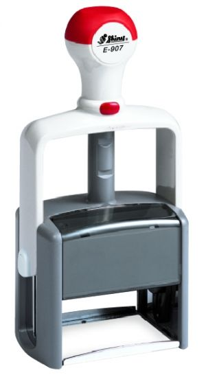 AUTOMATIC STAMP SHINY E-906 size 33x56 mm