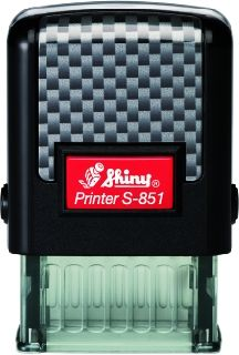 AUTOMATIC  STAMP SHINY S-851 size 10x26 mm