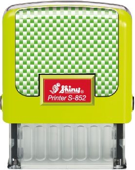 AUTOMATIC STAMP SHINY S-852  size 14x38 mm