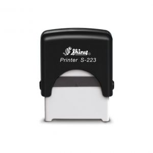 AUTOMATIC  STAMP SHINY S-223 size 18x47 mm